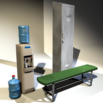 3d locker water cooler 01