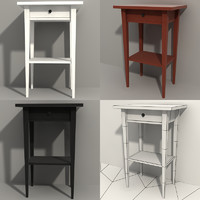 nightstand modeled 3d model