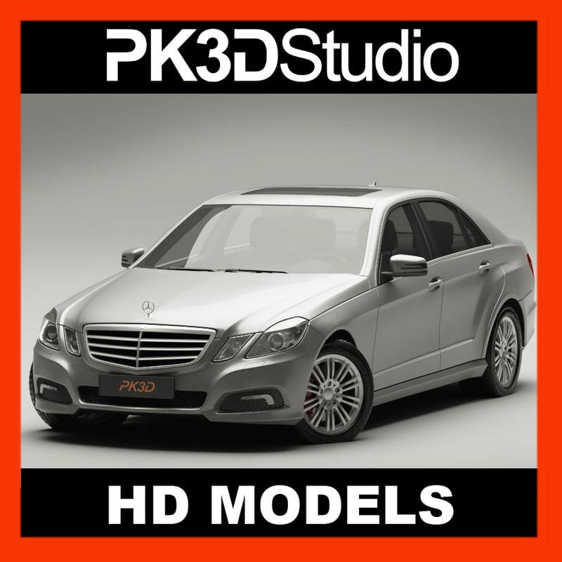 3d mercedes e class model