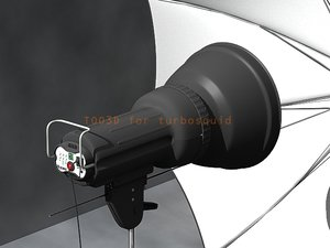 3d model of flash light set