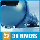 space centrifuge 3D models