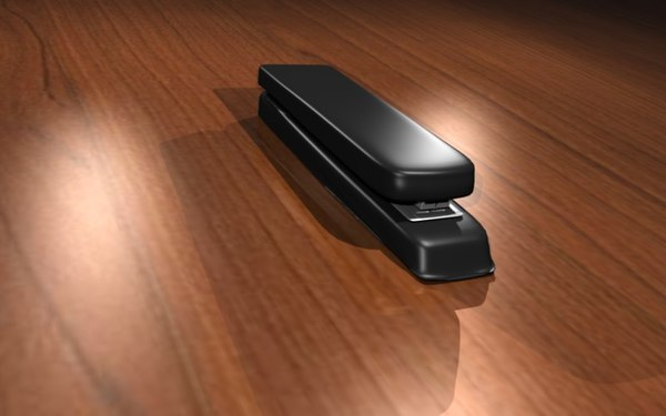 free stapler blender 3d model