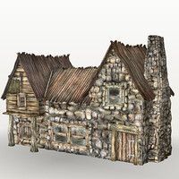 tavern stables buildings 3d max