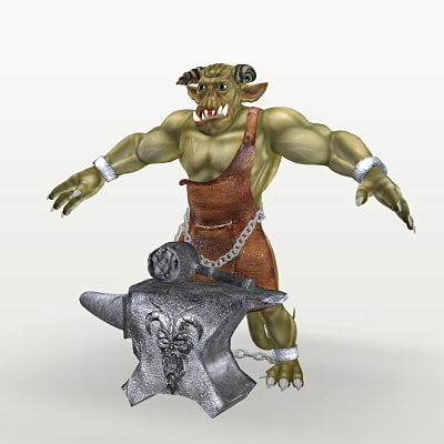 3d smythlak demon