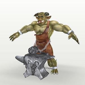 3d smythlak demon