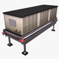 HVAC Rooftop Cooling Unit 2