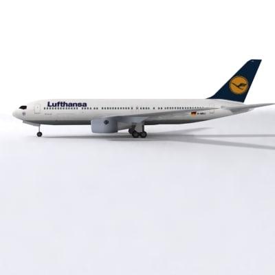 b 767 3d model