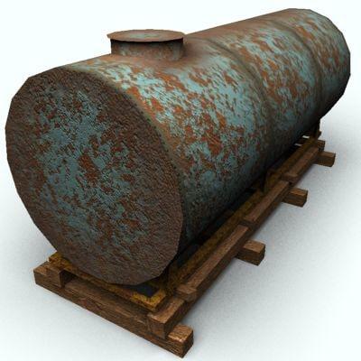 3dsmax water tank