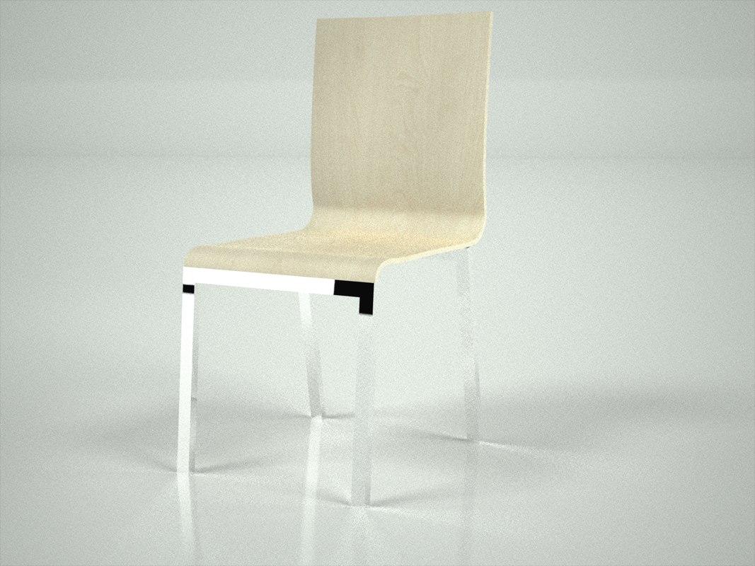 chair 3dm