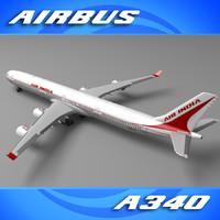 Airbus A340 Air India