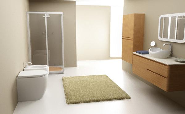 3d bathroom set 03