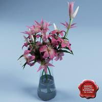 maya bouquet lilies v2
