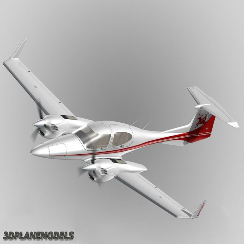 3d diamond da42 twin star model
