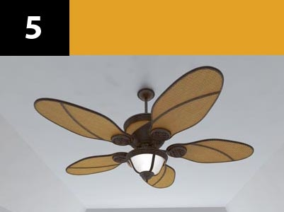 3ds max ceiling fan 5