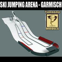 maya ski jumping arena garmisch