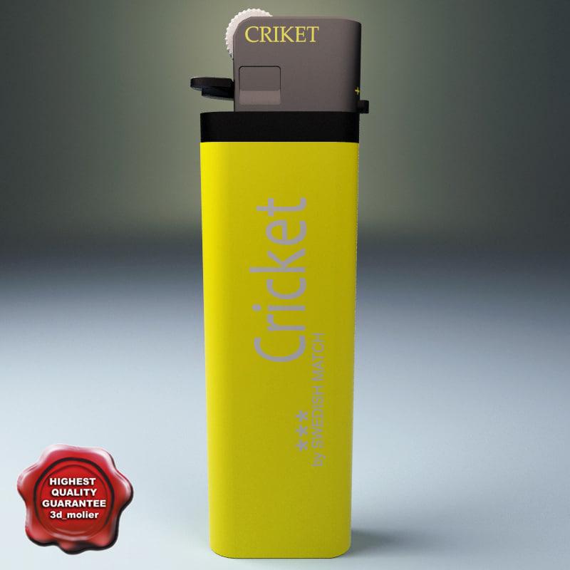 maya gas lighter cricket
