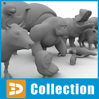 Low poly animals collection by 3DRivers