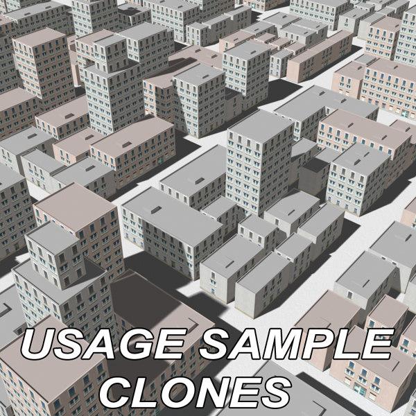 3d model of modular house 2