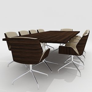 3d meeting conference room furniture