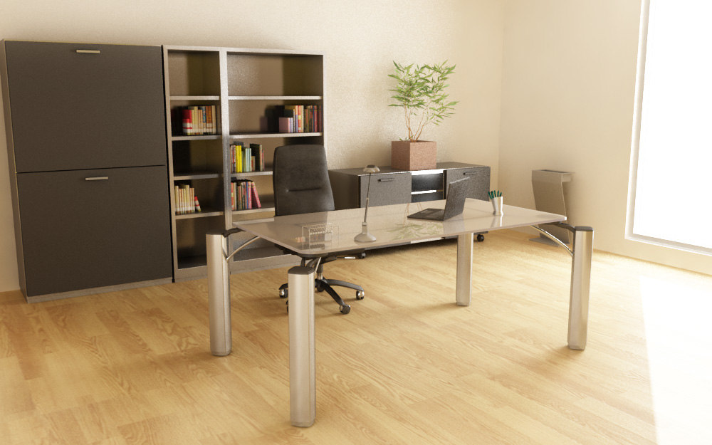office set 06 3d max