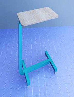 overbed table 3d 3ds