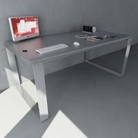 3d model desk pc