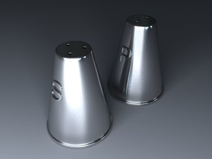 max stainless steel salt pepper