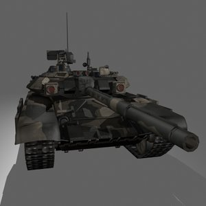 t 90 russian mbt 3d obj
