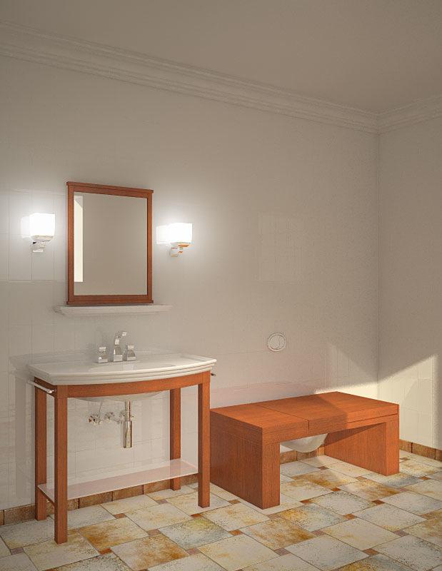 3ds max toilet set