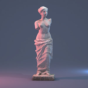 3d max venus statue