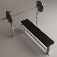 3d bench press