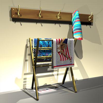 3ds clothracks prop 01 cloth