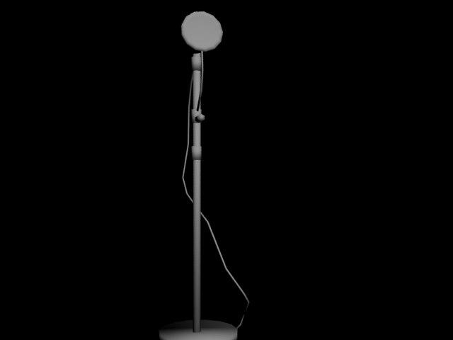 microphone obj