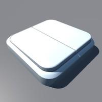 3d model of switch