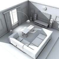 maya living room
