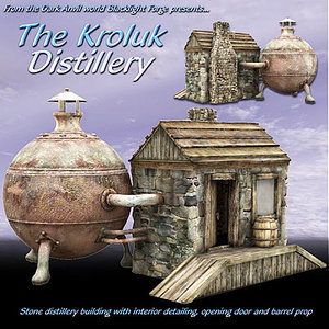 3d distillery tavern stables