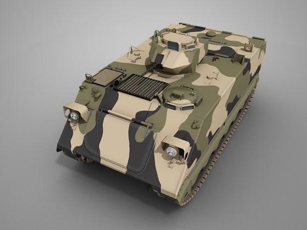 3d model m113 apc