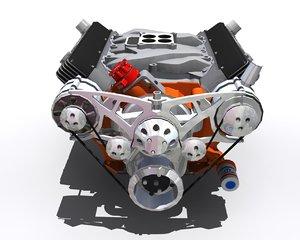 performance v8 440 3d model