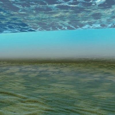 3dsmax floor water