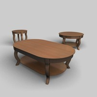 pontevecchio tables 3d 3ds