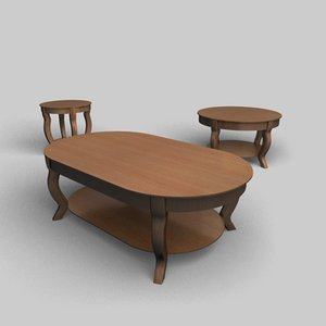pontevecchio tables 3d 3ds