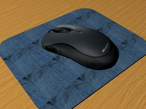 optical mouse 3d max