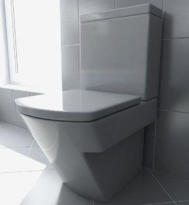 roca hall toilet 3ds