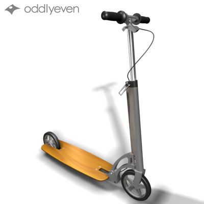 3d scooter transfer model