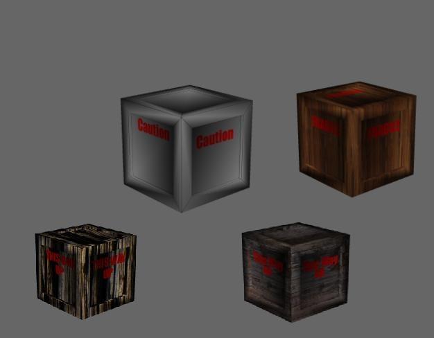 free box 4 3d model