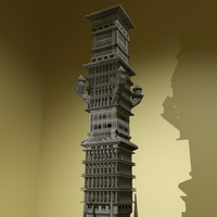 3ds max fantasy tower