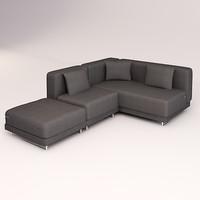 3d tylosand sofa seater