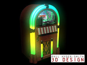 3d max 50 jukebox
