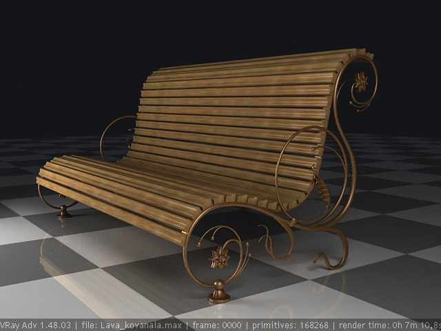 max set furniture elements forged