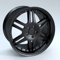 brabus monoblock vi wheel 3d model